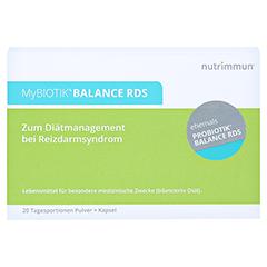 MYBIOTIK BALANCE RDS 20x2 g Plv.+20 Kapseln 1 Packung - Vorderseite