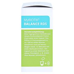 MYBIOTIK BALANCE RDS 20x2 g Plv.+20 Kapseln 1 Packung - Rechte Seite