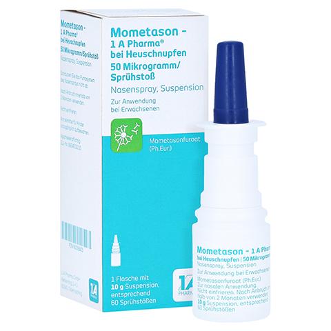 Mometason-1A Pharma bei Heuschnupfen 50µg/Sprühstoß 10 Gramm