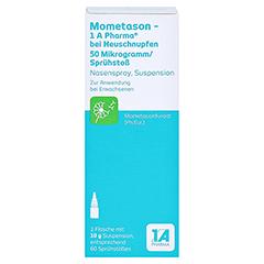 Mometason-1A Pharma bei Heuschnupfen 50µg/Sprühstoß 10 Gramm - Vorderseite
