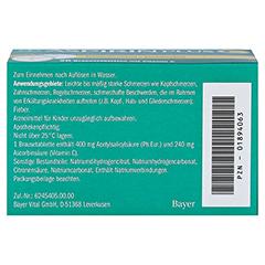 Aspirin plus C 20 Stück - Unterseite