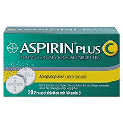 Aspirin plus C 20 Stück - Rückseite