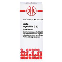 CARBO VEGETABILIS D 12 Globuli 10 Gramm N1 - Vorderseite