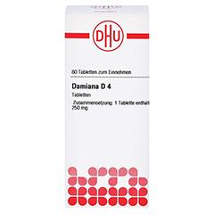 DAMIANA D 4 Tabletten 80 Stück N1 - Vorderseite
