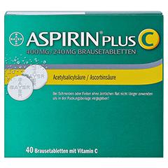 Aspirin plus C 40 Stück - Rückseite