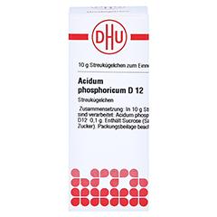 ACIDUM PHOSPHORICUM D 12 Globuli 10 Gramm N1 - Vorderseite