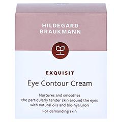 Hildegard Braukmann EXQUISIT Augen Creme 30 Milliliter - Rückseite