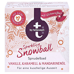 t by tetesept Sprudelbad Sparkling Snowball 165 g 165 Gramm - Vorderseite