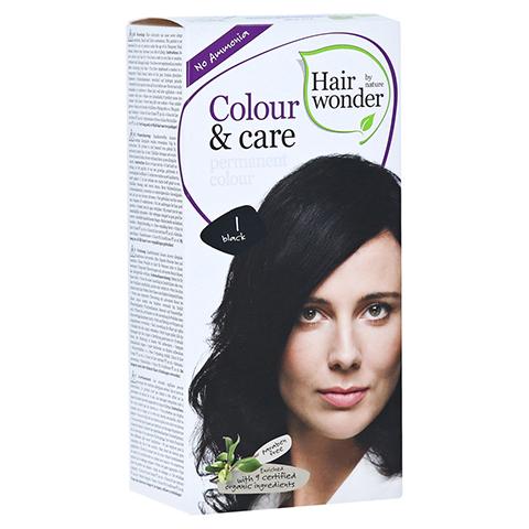 HAIRWONDER Colour & care black Creme 100 Milliliter