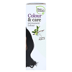 HAIRWONDER Colour & care black Creme 100 Milliliter - Rechte Seite