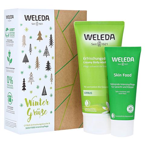 WELEDA Geschenkset Citrus/Skin Food 2020 1 Packung