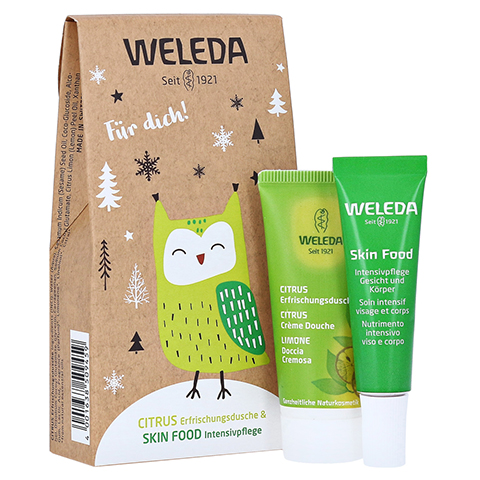 WELEDA Geschenkset mini Citrus/Skin Food 2020 1 Packung