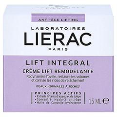 LIERAC LIFT INTEGRAL Creme 15 Milliliter - Rückseite