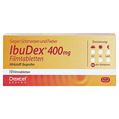 IbuDex 400mg 10 Stück N1 - Vorderseite