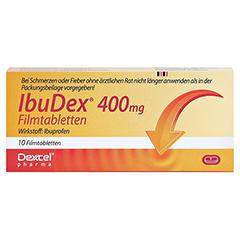 IbuDex 400mg 10 Stück N1 - Rückseite