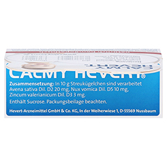 CALMY Hevert Globuli 7.5 Gramm N3 - Oberseite