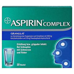 ASPIRIN COMPLEX 10 Stück N1 - Vorderseite