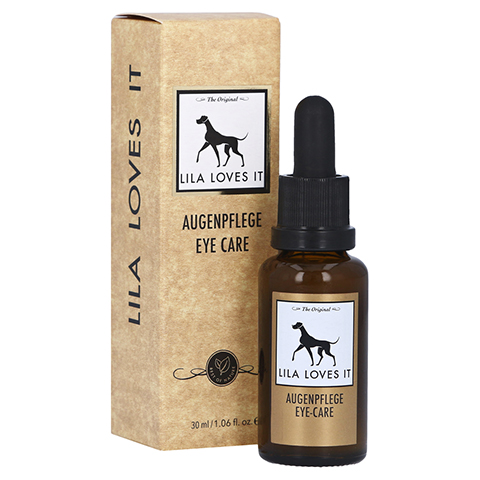 AUGENPFLEGE Lila Loves it vet. 30 Milliliter