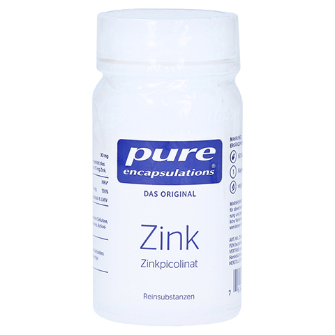 PURE ENCAPSULATIONS Zink Zinkpicolinat Kapseln 60 Stück