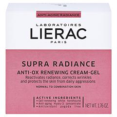 LIERAC Supra Radiance Gel-Creme 50 Milliliter - Vorderseite