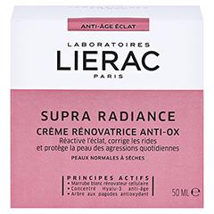 LIERAC Supra Radiance Creme 50 Milliliter - Rückseite