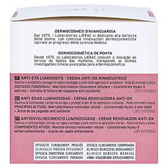 LIERAC Supra Radiance Creme 50 Milliliter - Rechte Seite