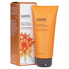 AHAVA Mineral Shower Gel Mandarin & Cedarwood 200 Milliliter