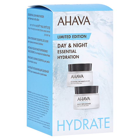 AHAVA Kit Essential day norm.tro.Haut+night Repl. 30 Milliliter