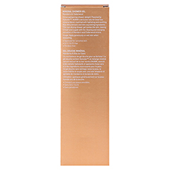 AHAVA Mineral Shower Gel Mandarin & Cedarwood 200 Milliliter - Rückseite