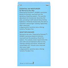 AHAVA Kit Essential day norm.tro.Haut+night Repl. 30 Milliliter - Rückseite