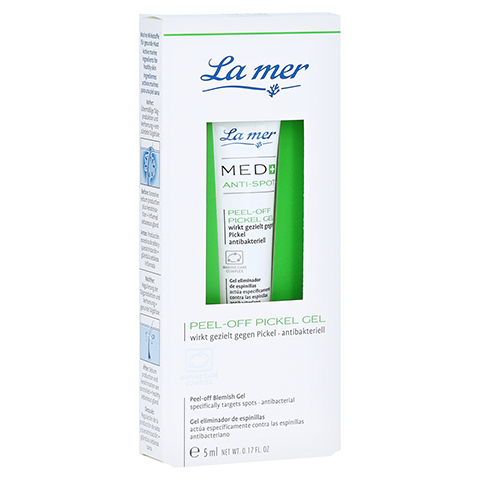 LA MER MED+ Anti-Spot peel-off Pickel Gel o.Parfüm 5 Milliliter