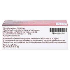 Antistax extra Venentabletten 60 Stück - Unterseite