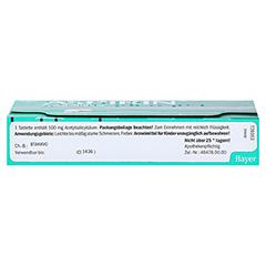 Aspirin 20 Stück - Unterseite