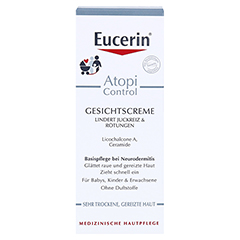 Eucerin AtopiControl Gesichtscreme 50 Milliliter - Vorderseite
