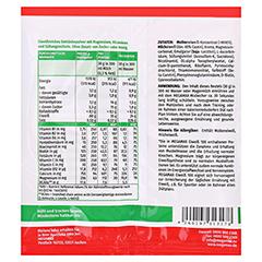 EIWEISS 100 Vanille Megamax Pulver 30 Gramm - Rückseite