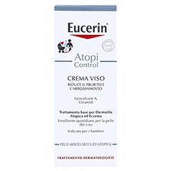 Eucerin AtopiControl Gesichtscreme 50 Milliliter - Rückseite