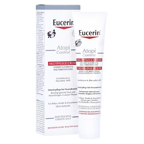 Eucerin AtopiControl Akutpflege Creme 40 Milliliter