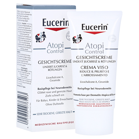 Eucerin AtopiControl Gesichtscreme 50 Milliliter