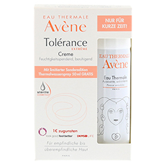 AVENE Tolerance Extreme Creme+Th.Spray 50ml Gratis 1 Packung - Vorderseite