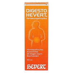 DIGESTO Hevert Verdauungstropfen 100 Milliliter N2 - Vorderseite