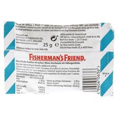 FISHERMANS FRIEND Spearmint ohne Zucker Pastillen 25 Gramm - R�ckseite