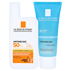 La Roche-Posay Anthelios Invisible Fluid LSF 50+ + gratis La Roche Posay Posthelios After-Sun 40 ml 50 Milliliter