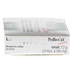 PROBIO-Cult Kapseln 20 Stück - Rechte Seite