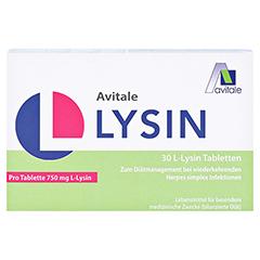 L-LYSIN 750 mg Tabletten 30 Stück - Vorderseite