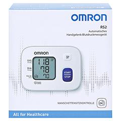 Omron RS2 Handgelenk Blutdruckmessgerät 1 Stück - Vorderseite