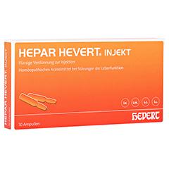 HEPAR HEVERT injekt Ampullen 10 Stück N1
