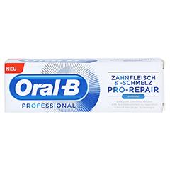 ORAL B Professional Zahnfleisch & -schmelz Zahncr. 75 Milliliter - Vorderseite