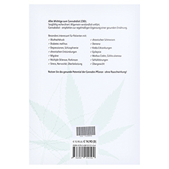 CANNABIDIOL CBD gesunde Helfer a.d.Hanfpfl.Ratgeb. 1 Stück - Rückseite