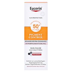 Eucerin Sun Fluid Pigment Control LSF 50 50 Milliliter - Vorderseite