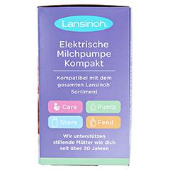 LANSINOH elektrische Milchpumpe Kompakt 1 Stück - Rechte Seite